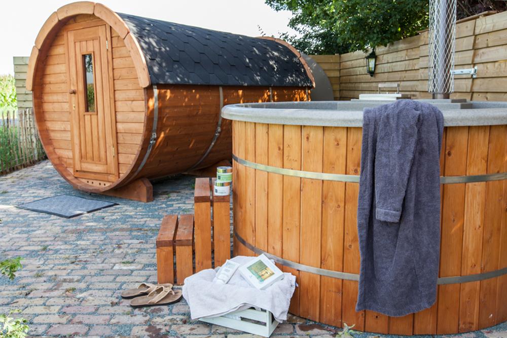 Bedstee Boerderij saune hottub