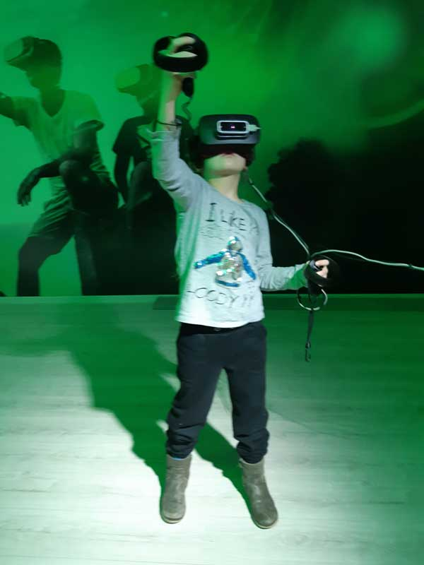 vr room kinderfeest
