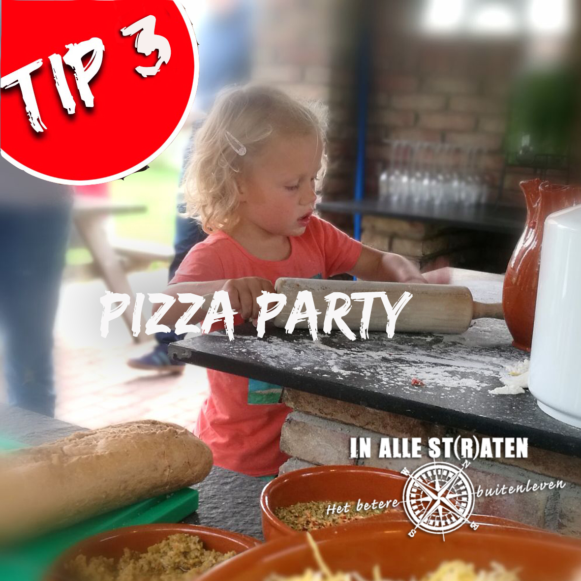 tip 3 pizza party