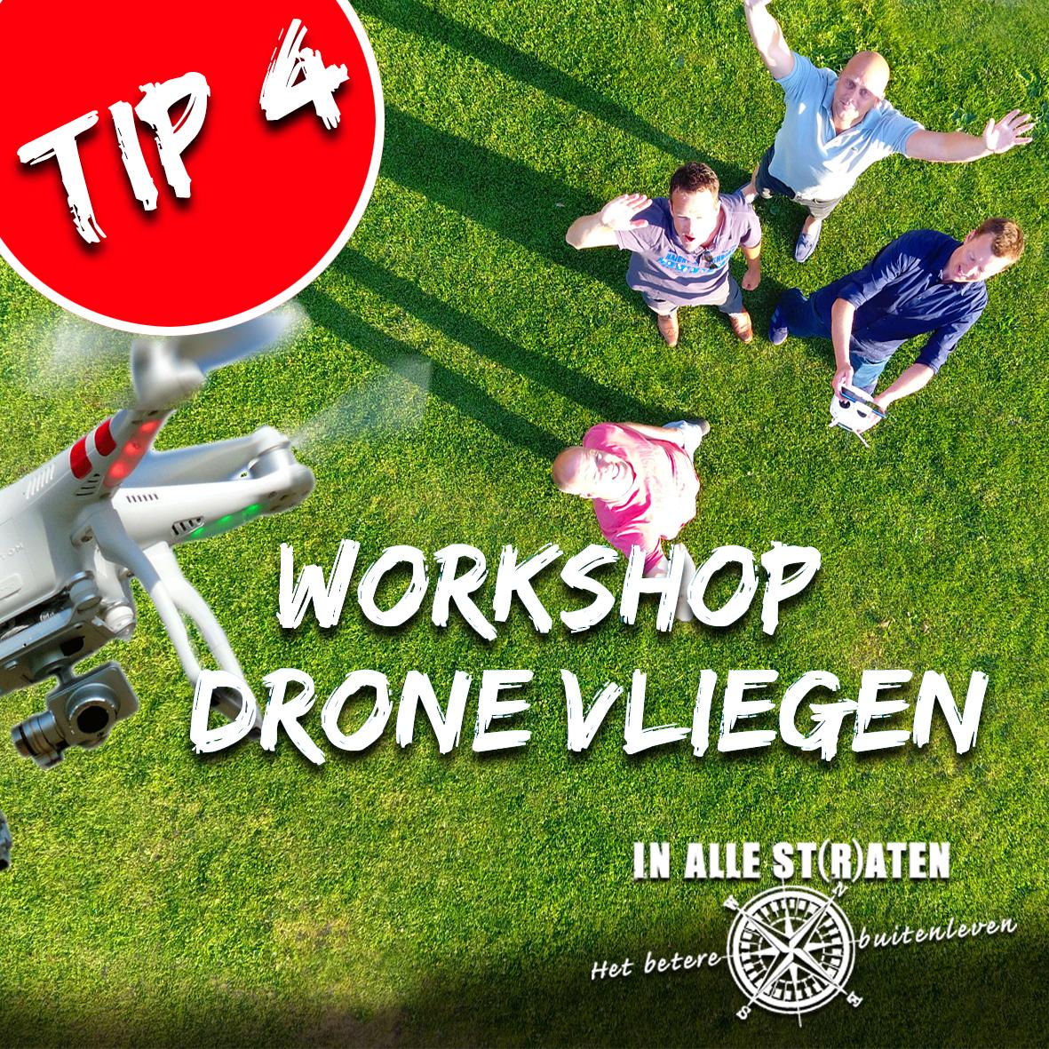 tip 4 drone vliegen